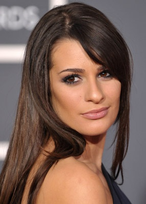 lea michele. beautiful with a great voice! Gotta love her!