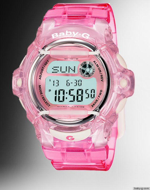 If you had a watch in the #90s...you had a #BabyG!