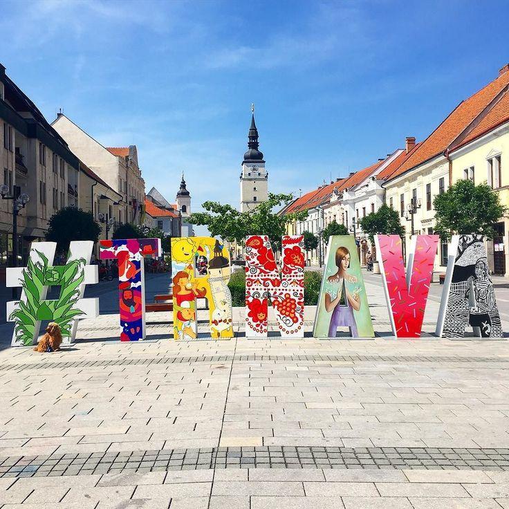 #TRNAVA  #myhome #Trnavacity #Slovakia #sunshine #sunnyday #home #sunday #weekend #artistry #streetart by miszilvasova