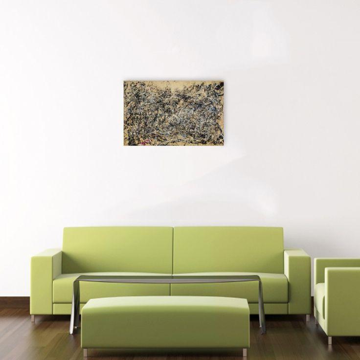 POLLOCK - Number 1A, 1948 80x52 cm #Pollock #artprints #interior #design #art #print #iloveart #followart #artist #fineart #artwit Scopri Descrizione e Prezzo http://www.artopweb.com/autori/jackson-pollock/EC21733
