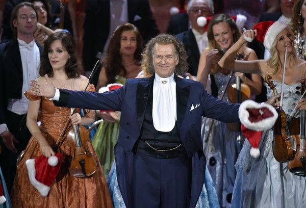 Andre Rieu Photos - Andre Rieu during the tv show 'Heiligabend mit Carmen Nebel' on November 23, 2016 in Munich, Germany. The show will air on December 24, 2016. - Andre Rieu Photos - 13 of 343