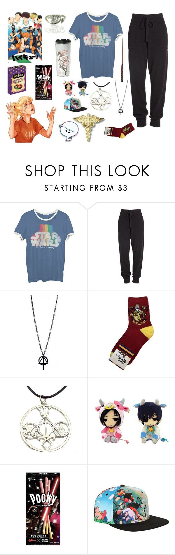"""Current Mood~"" by a-redfern ❤ liked on Polyvore featuring Junk Food Clothing, Donna Karan, Puella and Cartoon Network"