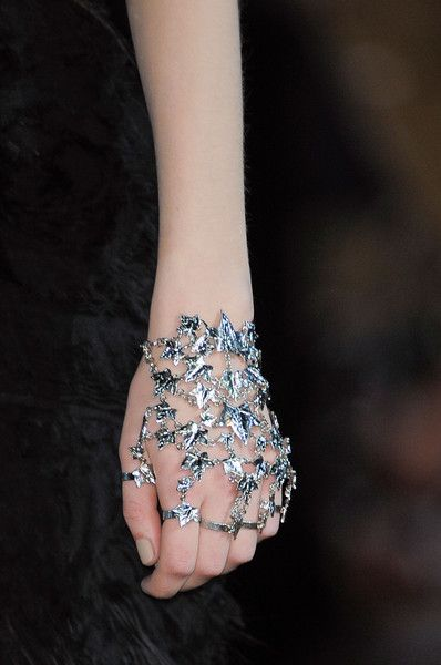 """Alexander McQueen Fall 2014  (=^.^=) Thanks, Pinterest Pinners, for stopping by, viewing, re-pinning, & following my boards.  Have a beautiful day! ^..^ and """"Feel free to share on Pinterest ^..^  #jewelry #topfashion #fashionandclothingblog"""