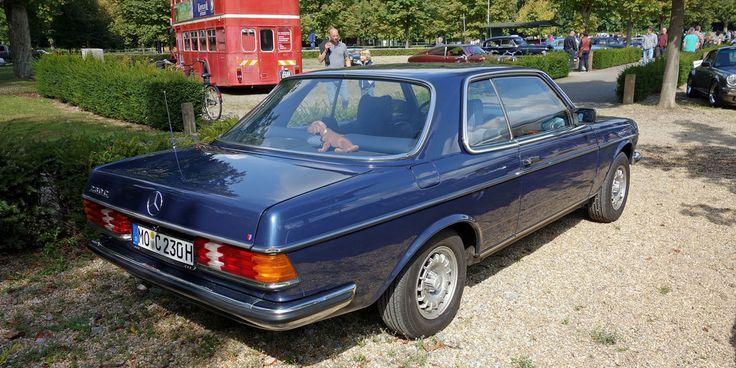 Alle Größen   Mercedes 230 C (C123, 1977-80) in Lapisblau Metallic (932, Lapis Blue Metallic)   Flickr - Fotosharing!