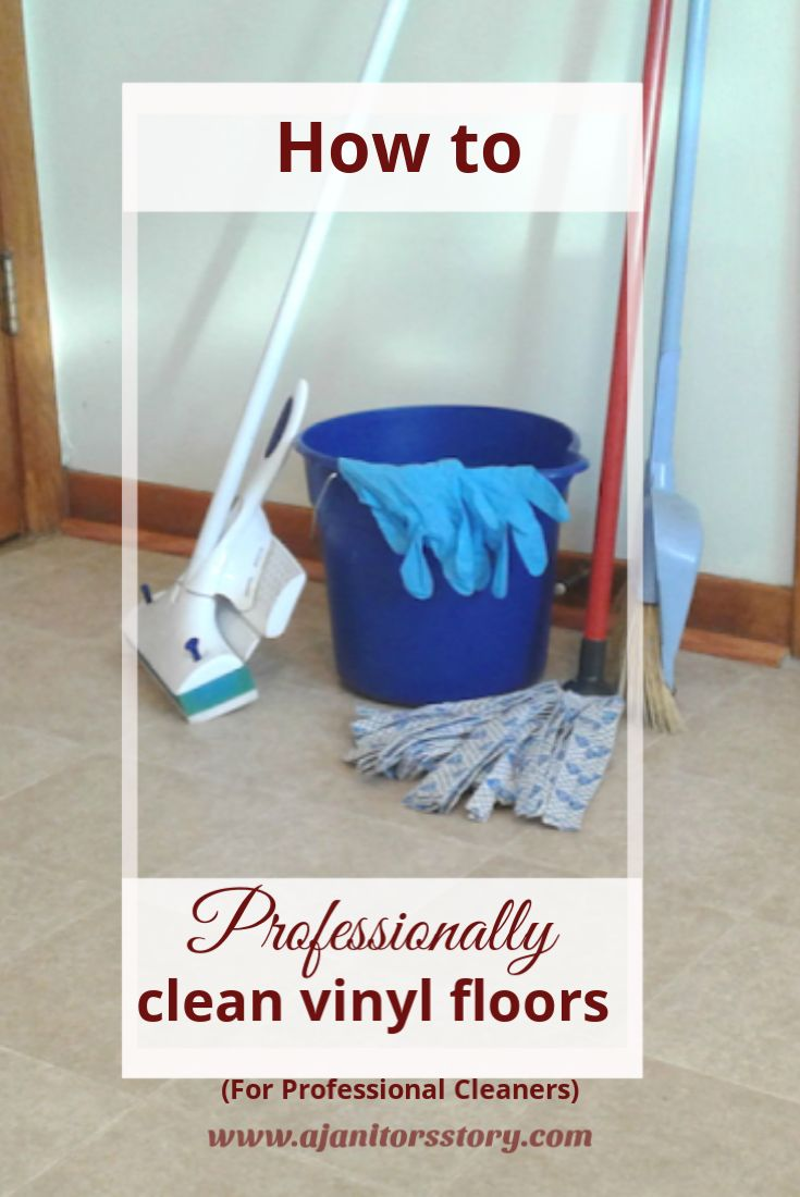 Clean Vinyl Floors Like Pro Cleaning