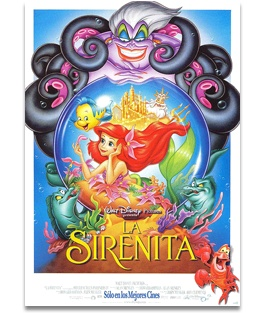 1989: Se estrena la película animada La sirenita, de Walt Disney, basada en un cuento de Hans Christian Andersen.