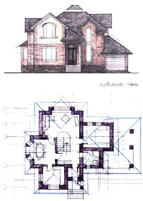 архитектурный проект загородный дом - Поиск в Google