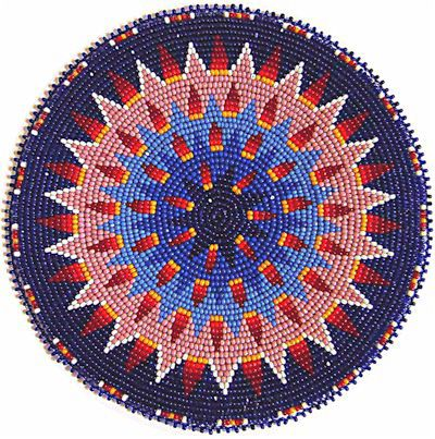 Beaded Rosettes - kqdesigns.com - omg these rosettes are gorgeous too!