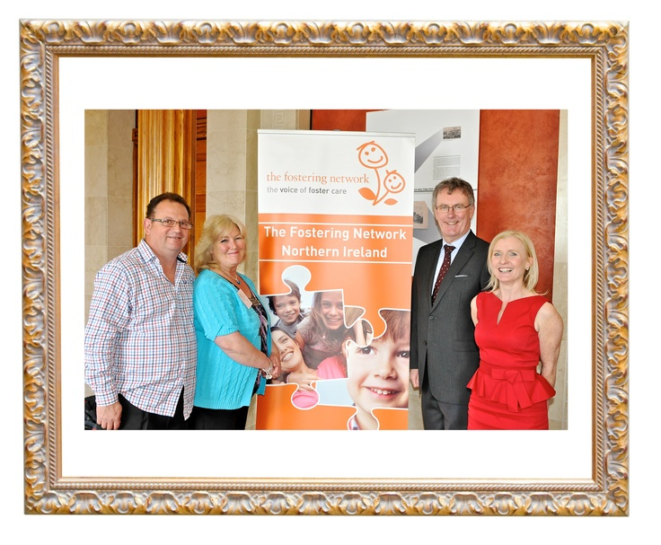 Health care- Today we're celebrating fostering in Northern Ireland! Mike Nesbitt (Party, Leader Ulster Unionist Party) and foster carers Gail and Dominic Burke (South Eastern Health and Social Care Trust)  #FCF2013