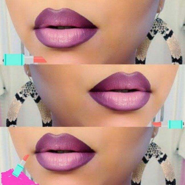 Ombre #lips: pásate al efecto degradado en tus labios #beauty #makeup