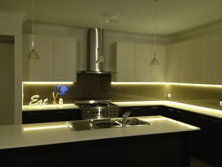 25 best ideas about led kitchen lighting on pinterest Led strip lighting ideas