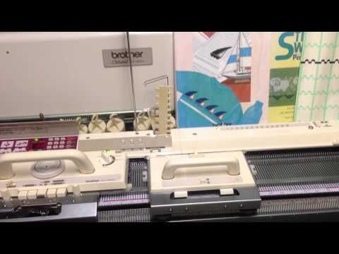 For Sale Brother Electroknit Knitting Machine Kh 950i with Brother Kr 850 Ribber Attachment Package - http://www.knittingstory.eu/for-sale-brother-electroknit-knitting-machine-kh-950i-with-brother-kr-850-ribber-attachment-package/