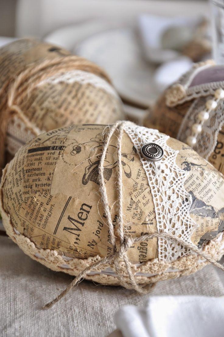 Husmannsplassen i Hidlesundet: Påske-egg