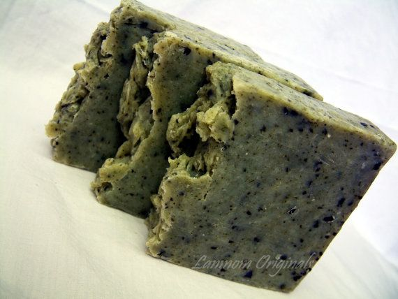 Sumptuous Swimmer's Shampoo Handcrafted Soap All Natural Seaweed Soap Vegan Friendly Bar Shampoo