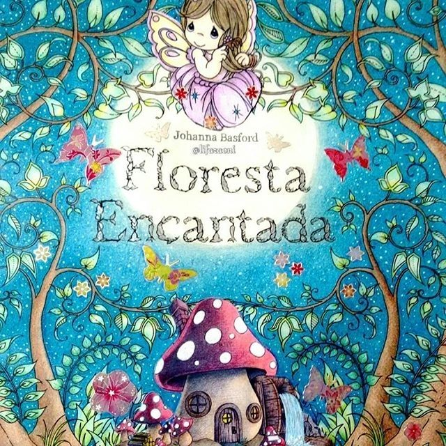 21 Best Johanna Basford Enchanted Forest Title Page