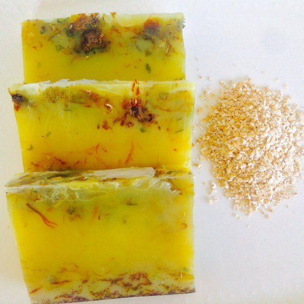 Jojoba oatmeal scrub soap