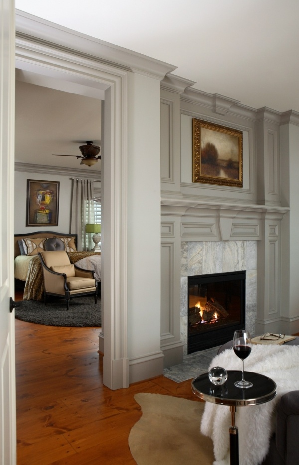 Federal crown molding fabulous interiors cabin - Federal style interior paint colors ...