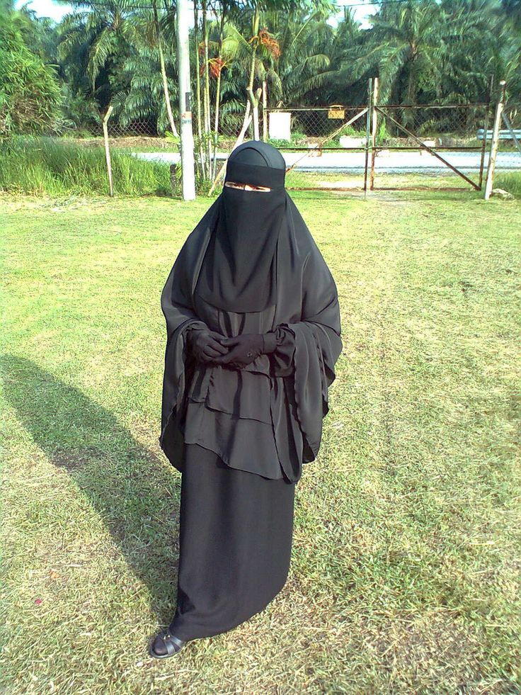 Lovely Modest Niqab Outfit