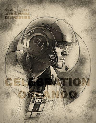 STAR WARS CELEBRATION ORLANDO'S STUNNING BADGE ART