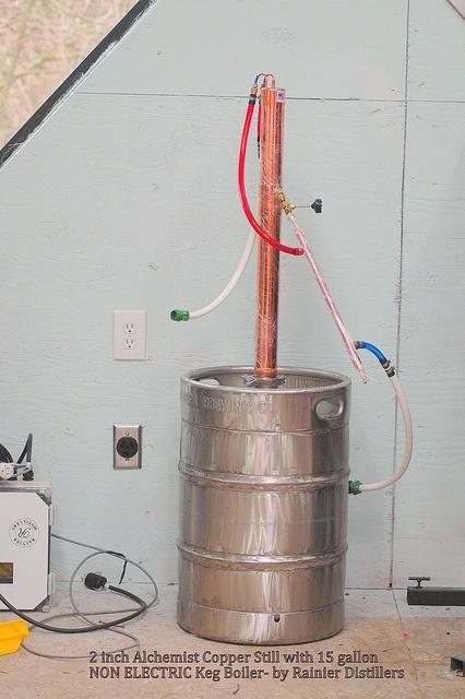 Reflux Column Still Plans Furthermore Homemade Moonshine Still Plans