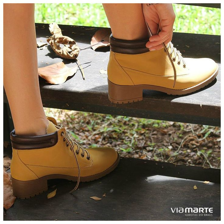 yellow boots - winter shoes - coturno amarelo - Inverno 2015 - Ref. 15-303