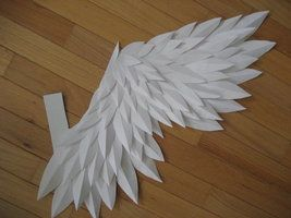 Random-Paper Wings finished by ~AkabaraYashiki on deviantART