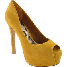 Jessica Simpson - Carri (Women's) - Mustard Kidsuede - My collection from top #designers