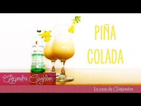 Preparar Piña Colada - DIY Piña Colada preparation - YouTube