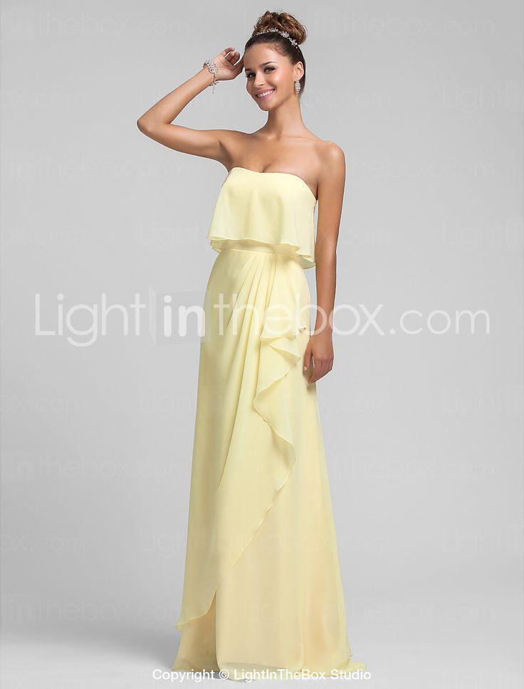 gaine / colonne robe bustier demoiselle d'honneur - EUR € 77.10