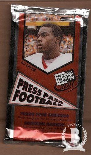 2011 Press Pass Football Hobby Pack by Press Pass. $3.49. Press Pass Inc. box in near mint/mint condition, authenticated by Seller