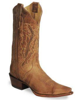 Женские ковбойские сапоги Nocona Old West форма мыса Snip Toe