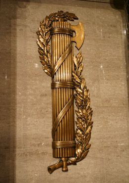 Great post about fasces and its use in the Capitol building - U.S. Capitol Historical Society