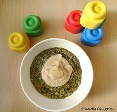 Pastina+con+fagioli+e+scarola+|+Ricetta+svezzamento