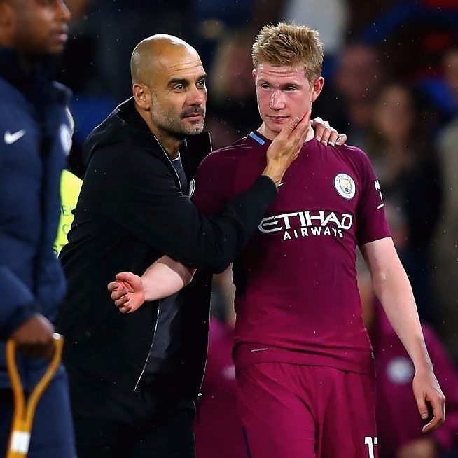 Guardiola: @kevindebruyne is the best player in Europe bar one... #pepguardiola #pep #guardiola #kevindebruyne #debruyne #kdb #mancity #mcfc #manchestercity