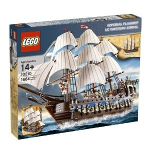We're loving this Lego kit.  The characters are really cool and the ship is highly intricate.