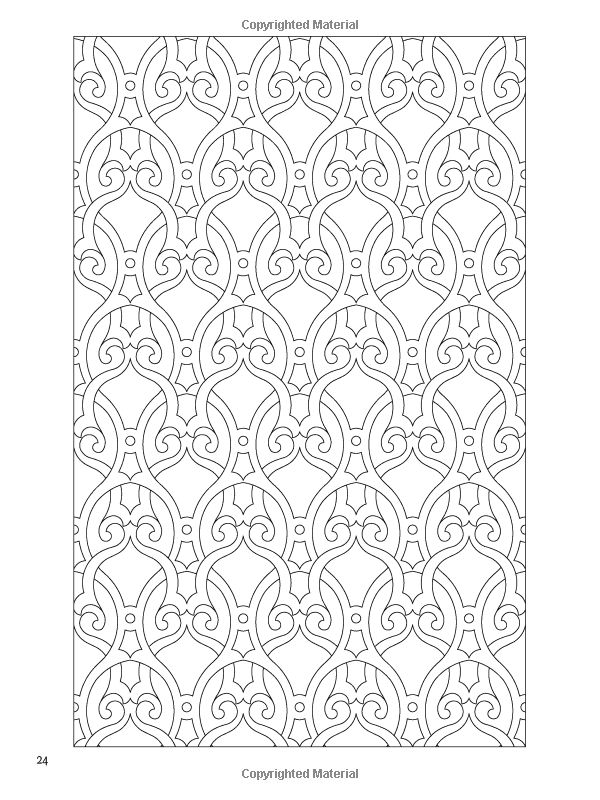 Arabic Design Coloring Pages | Coloring Pages