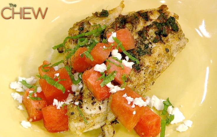 Michael Symon Watermelon Feta Salad