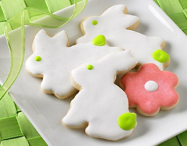Biscoitos Coelhinhos de Páscoa