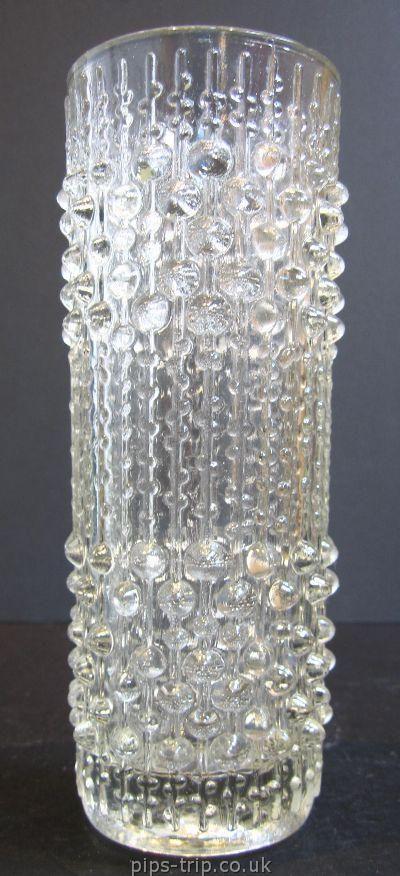 : Sklo Union Glass 1 : 1960s Sklo Union Glass (Czech) 'Candlewax' Vase by Frantisek Peceny