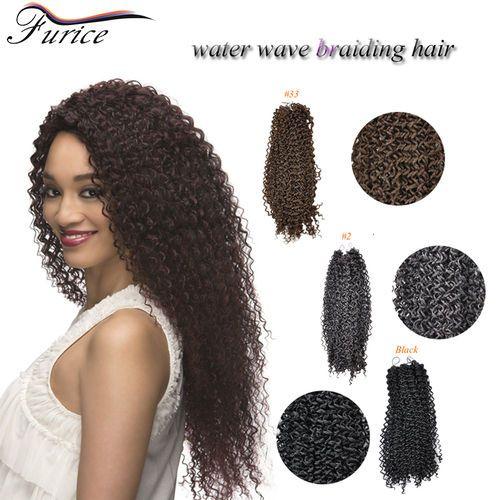 19 best water wave hair extension images on pinterest hair 18inch water wave crochet braids havana twist curly hair extensions snythetic pmusecretfo Gallery