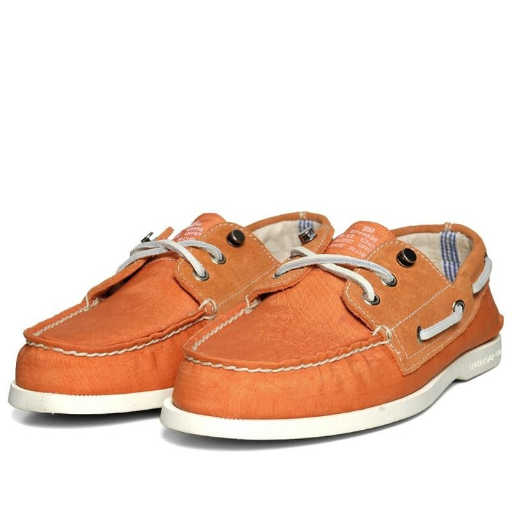 Sperry Topsider x Band Of Outsiders Authentic Original 3-Eye Orange