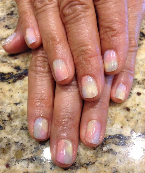 Day 143: Spring Pastels Nail Art - - NAILS Magazine