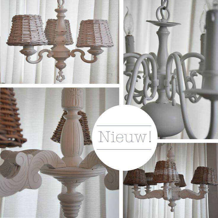 Mooie nieuwe brocante kroonluchters! #chandelier #new #brocante #kroonluchter
