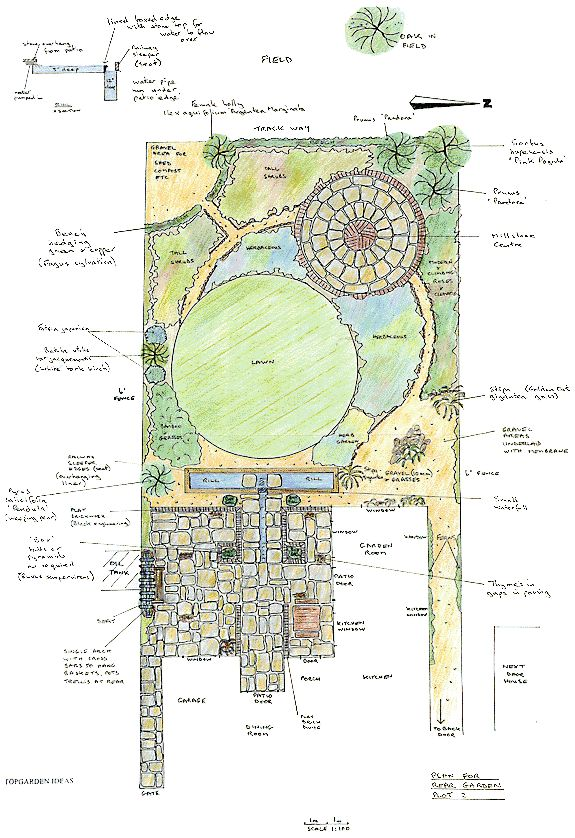 176 best landscape plans renderings images on pinterest for Zen garden designs plan