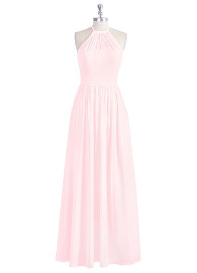 AZAZIE KAILYN. Style Kailyn by Azazie is a floor-length A-line/princess bridesmaid dress in a fabulous chiffon. #Bridesmaid #Wedding #CustomDresses #AZAZIE