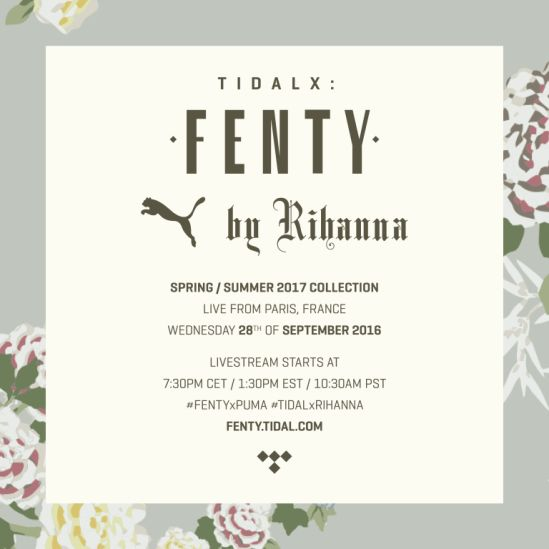 Second Fenty x Puma Collection Will Debut at Paris Fashion Week
