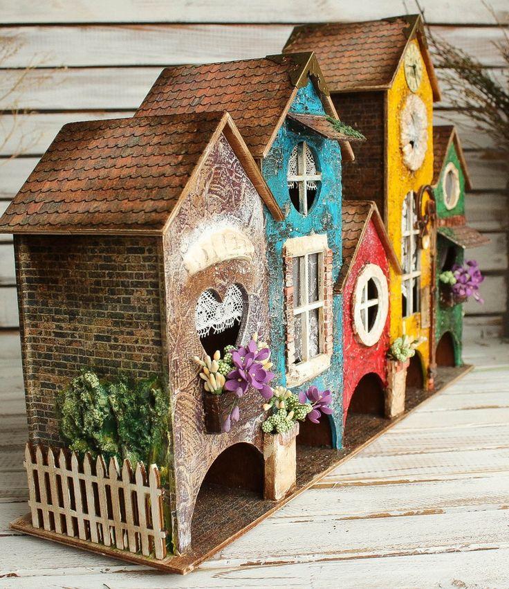 Чайная улочка - домик миниатюра!