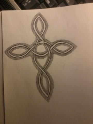 Tattoo Line Drawing Idea #1