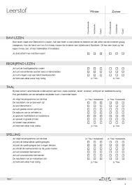 Afbeeldingsresultaat voor inhoud portfolio basisschool