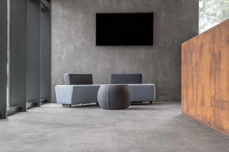 2016 Sagtubi Novellara / Italy Design: Ingrid Fontanili Architetto Laminam 3+ Kotan, Grey 1000x3000